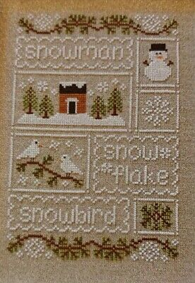 "Country Cottage Needleworks - ""Snow Sampler""  Chart No. 93  (2014)"