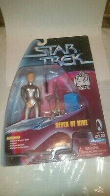 Playmates Seven of Nine Starfleet Command Target Exclusive Star Trek Voyager