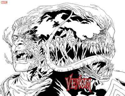 VENOM 18 2019 WILL SLINEY 1:25 2nd PRINT WRAPAROUND WRAP VARIANT NM