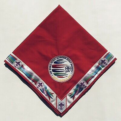 24th World Scout Jamboree 2019 Youth Participant Red Neckerchief WSJ New, Mint!