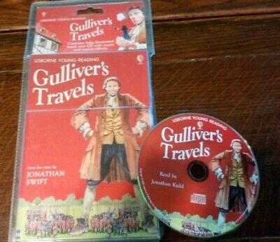Gulliver's Travels Pack by Jonathan Swift and Gill Harvey (2006, CD / Paperback)