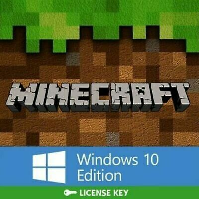 Minecraft: Windows 10 Edition (PC ONLY, ACTIVATION KEY ONLY, FULL GAME, NO BOX)