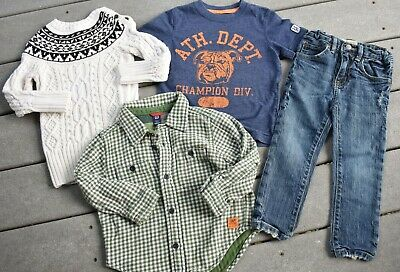 Large Lot of Boys 3T Brand Name Shirts & Sweaters Ralph Lauren GAP Old Navy