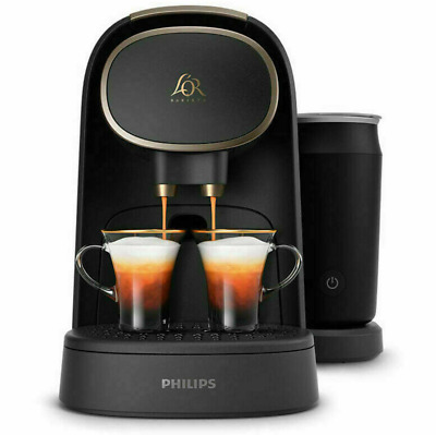 L'or Philips Barista Premium Grade Capsule Coffee Machine with Milk Frother