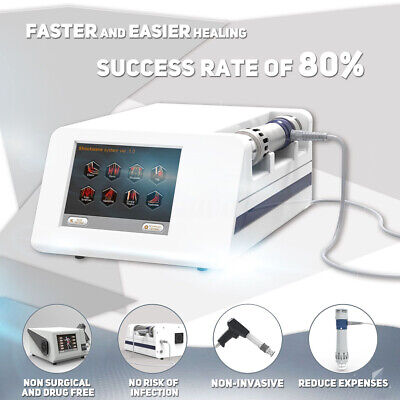 Effective Physical Pain Treatment Shock Wave Shockwave Therapy Machine with ED