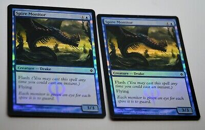 Psychic Barrier x4 NEW PHYREXIA Magic 4 cards Mtg NEAR MINT