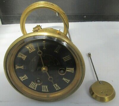 Japy Freres mantle clock movement nos 995 Medaille d'Honneur stamp 1885 c1900