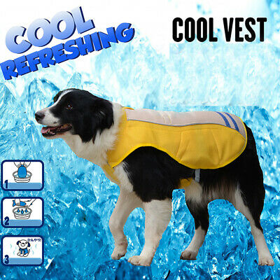 Small / Medium/ Large Dog Cooling Vest Coat Jacket Cooler for Pet Dogs Cat