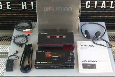 Sony Pprofessional Walkman D6C/Mdr-51/Mint & Boxed Working Stunning