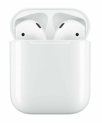 Apple AirPods 2nd Generation with Charging Case - White And W1 Chip