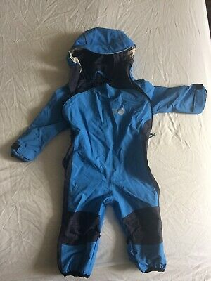 Spotty Otter Baby Waterproof Suit Size 0-6months