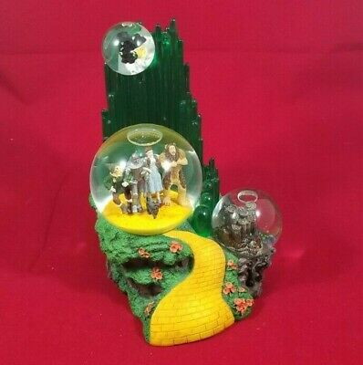 Wizard Of Oz Musical Water Snow Globe Westland #1820 We're Off To See The Wizard