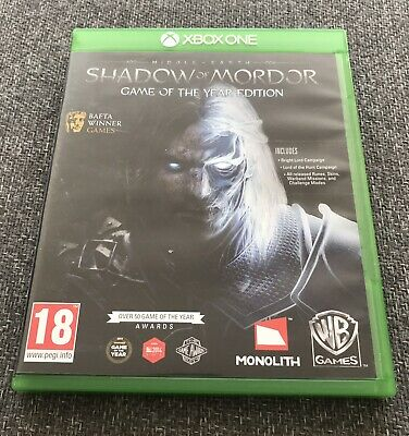 Middle Earth Shadow of Mordor Game of the Year Edition Xbox One