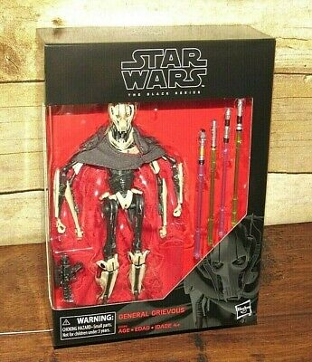 """Star Wars The Black Series General Grievous #D1 New Sealed 6"""" Figure Hasbro"""