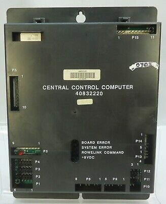 Rowe AMI Jukebox CCC Central Control Computer CD100A-H - Test Good New Battery