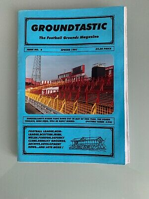 Groundtastic The Football Grounds Magazine number 8 Spring 1997