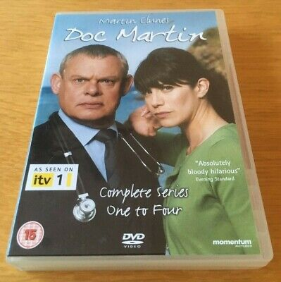 Doc Martin. Complete Series 1-4. Series One To Four. 8 Disc Dvd Set. Region 2
