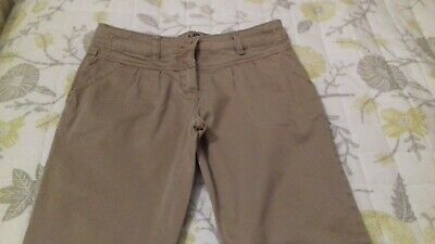 👖👖Nice Girls Cropped Trousers By Next Age 10 Good Condition 👖👖