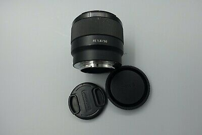 EXC- Sony 50mm f/1.8 FE Lens for Sony Mirrorless Cameras