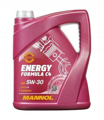 5L Mannol Energy Formula C4 Fully Synthetic High Grade Oil 5W30 RN 0720
