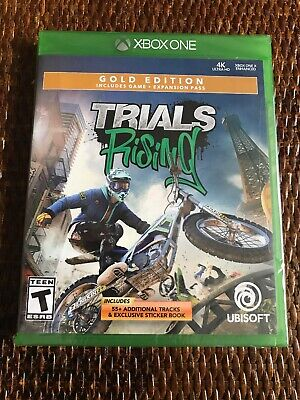 Ubisoft Trails Rising: Gold Edition (Xbox One) 4K Support + season pass Sealed