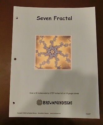Seven Fractal  by Stephen Mooney of Brown Moon Designs  -Out-of-print- *Rare*