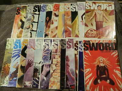 2007 IMAGE Comics THE SWORD #1-24 Complete Series Set - LUNA BROTHERS - VF/NM