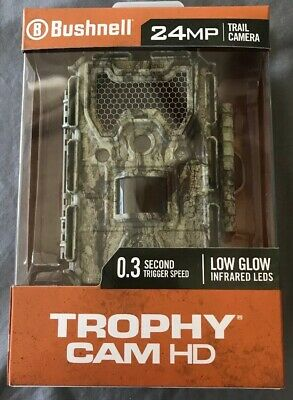 Bushnell 24mp Trail Camera Trophy Cam HD 0.3 Trigger Speed Brand New - FAST SHIP