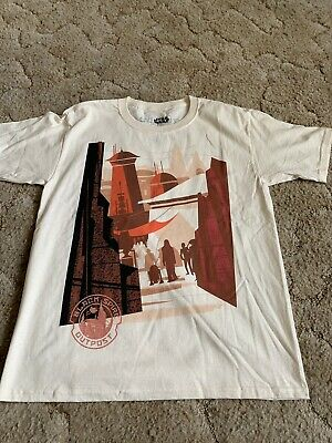 Disney Parks Star Wars Galaxy's Edge Black Spire Outpost Youth T-Shirt SZ XL