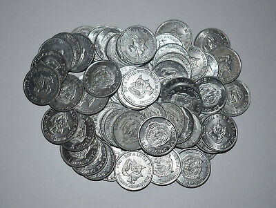 10. Lot Of 4 Aluminum Adult Girlie Tokens - Big Cats Are Dangerous, But../ Heads