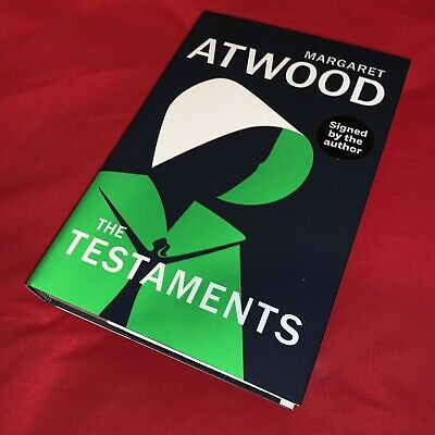 The Testaments - Margaret Atwood - Signed - First Edition - Hardback Book