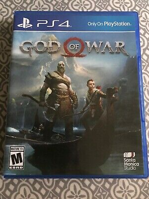 God Of War Ps4 Sony Playstation 4 Mint Disc