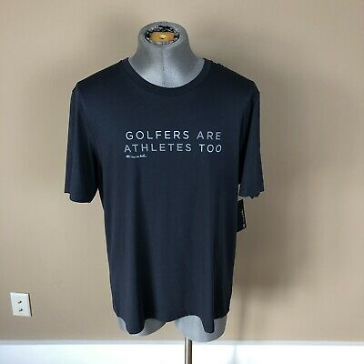 NWT Travis Mathew Golfers Are Athletes Too T-Shirt Sz XL