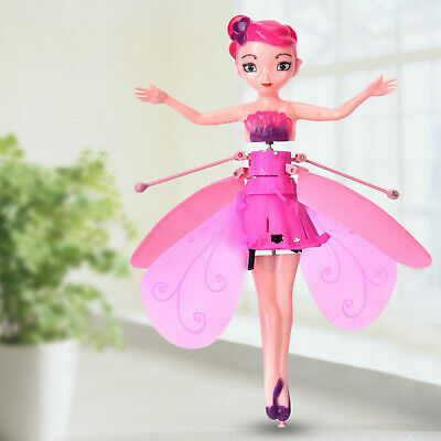 Cute Flying Fairy Princess Dolls Magic Infrared Induction Control Toy Xmas HOT w