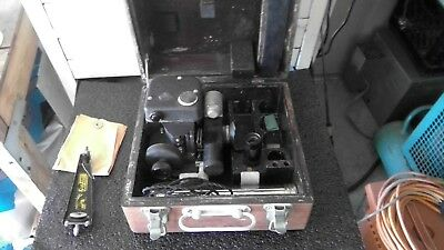 Vintage Wwii Fairchild Corp Air Forces U.s. Army Sextant A-10 A With Box