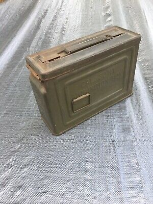 WWII US Army Ammo Can CAL 30 M1 Flaming Bomb Ammunition Box
