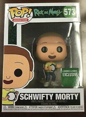 Funko Pop Rick & Morty #573 Schwifty Morty Barnes & Noble Exclusive W/ Protector