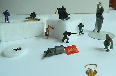 Huge Lot Of Vintage Micro Mini Random Action Figure And Collectibles