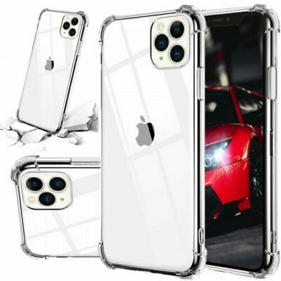 For iPhone 11 Pro Max XS XR X 7 8 Plus Case Cover Shockproof Bumper Clear Slim