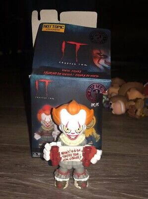 Funko Mystery Minis It Chapter 2 Pennywise Skateboard Hot Topic Exclusive Figure