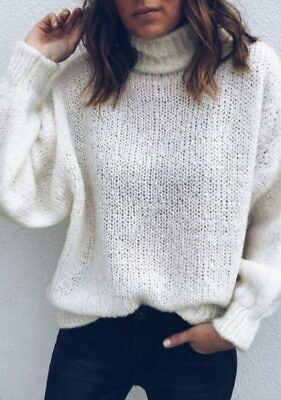 Blouse Long Sleeve Fashion Solid Knitted sweater Casual Women's Loose Sweater