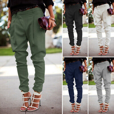 Girls Pants Party Baggy Pants Bottoms Fashion Business Trousers Formal