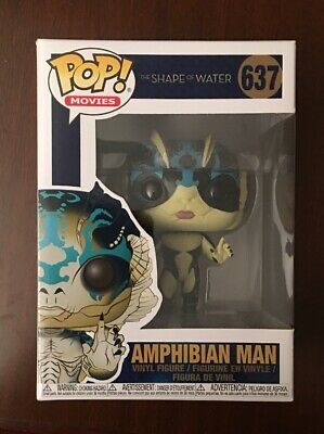 Funko Pop! Vinyl Figure-Movies-Oscar Winner-Shape of Water Amphibian Man # 637
