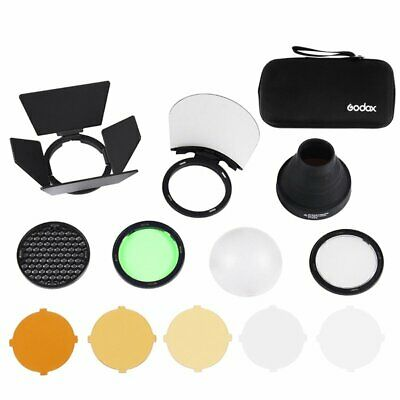 Godox AK-R1 Honeycomb Snoot Color Filters Diffuser For Godox AD200 H200R