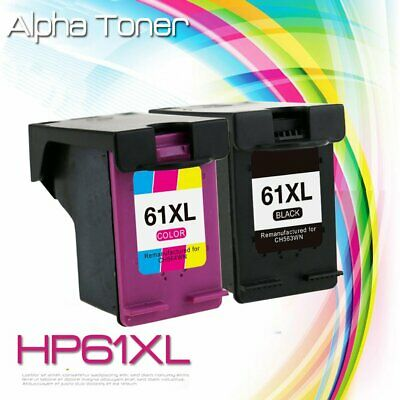 2 Combo Ink Cartridges for HP 61XL ENVY 4500 4501 4502 4504 4505 5530 5535 5539