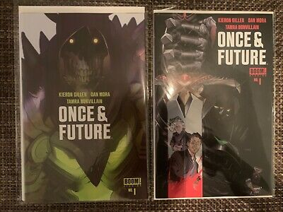 Once And Future #1 First Printing and LE 1000 LaFuente Variant Set