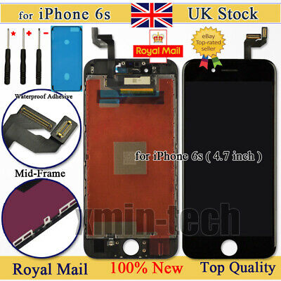 Black For iPhone 6S Screen Replacement 3D Touch Digitizer LCD Display Assembly