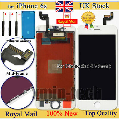 White For iPhone 6S Screen Replacement 3D Touch Digitizer LCD Display Assembly