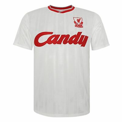Liverpool FC Retro Candy 88/89 3rd Shirt LFC Official