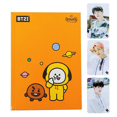 BTS BT21 x Downy Adorable Official Note + Jimin Suga Jungkook Photocard Gift+etc